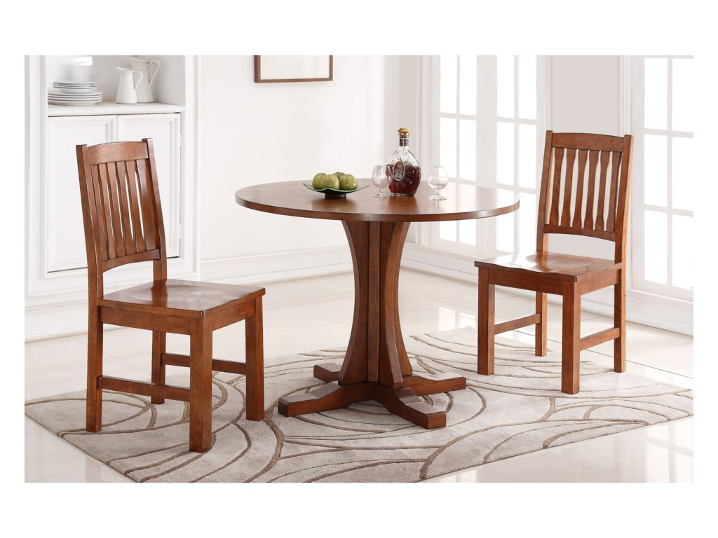 Colorado 42 Round Pedestal Table Rotmans Dining Tables