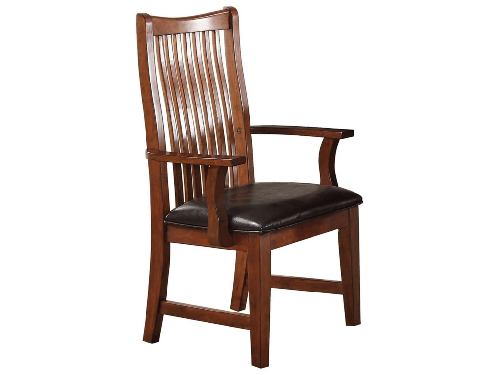 Winners Only ColoradoRaised Slat Back Arm Chair