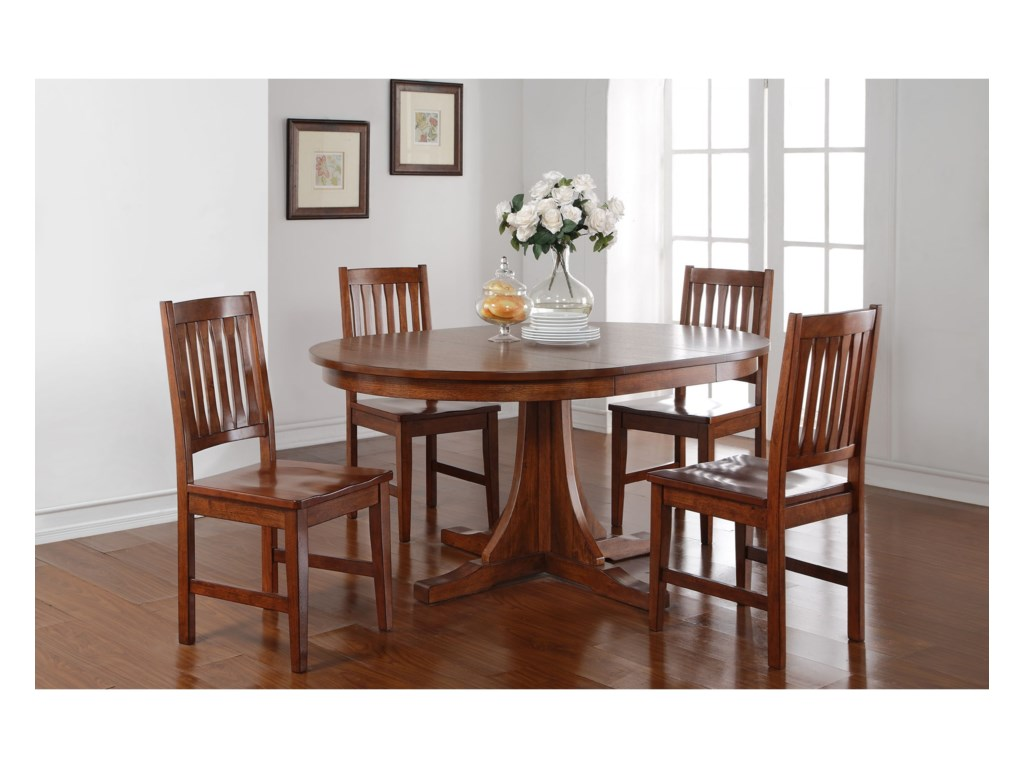 Winners Only ColoradoRound Pedestal Table