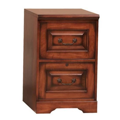 Winners Only Country Cherry Two Drawer Traditonally Styled  File Cabinet