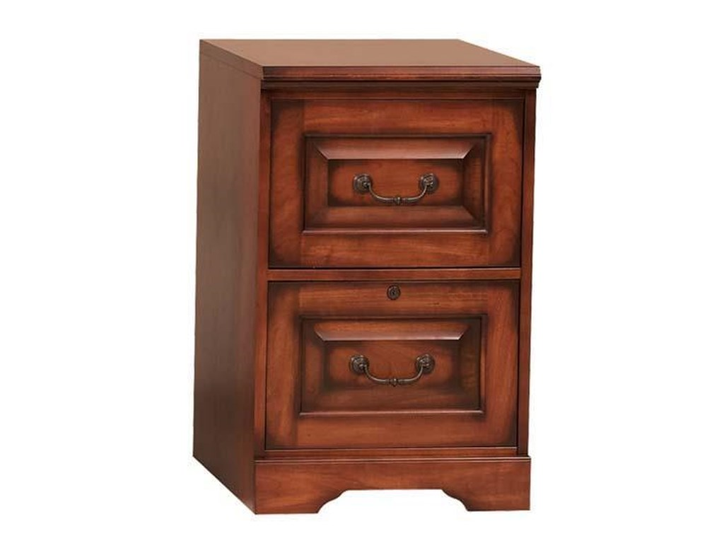 Winners Only Country CherryTwo-Drawer File Cabinet
