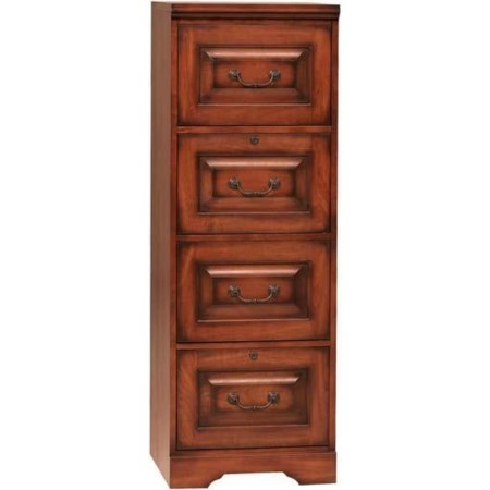 Country Cherry Four-Drawer File