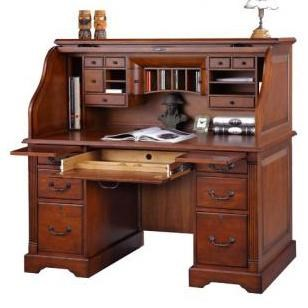 Genial ... Roll Top Desk. Winners Only Country Cherry 57