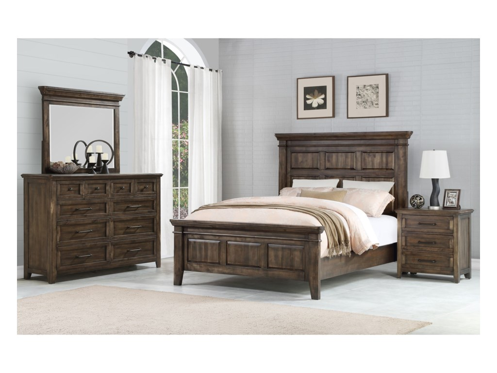 Winners Only Dahpne WOQueen Panel Bed