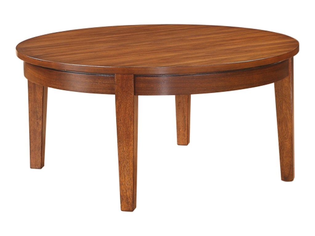 Winners only davenport transitional 38 round coffee table