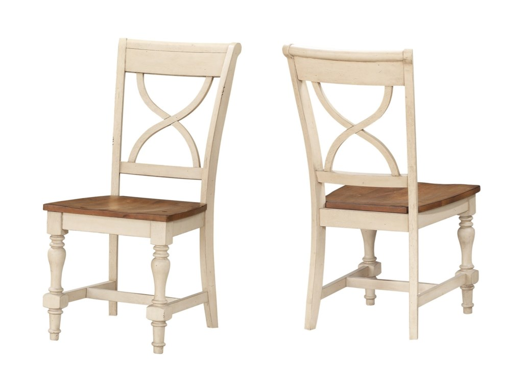 Winners Only DevonshireX-Back Side Chair