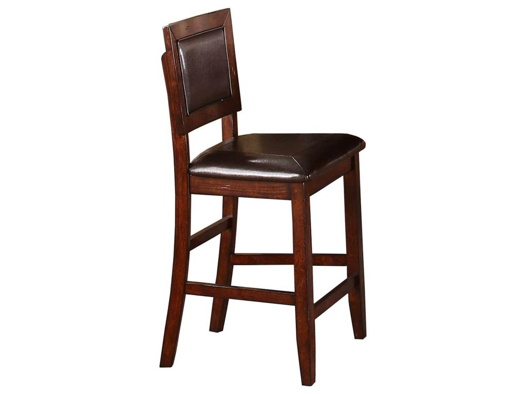 Winners Only FallbrookCushioned Back Counter Height Barstool