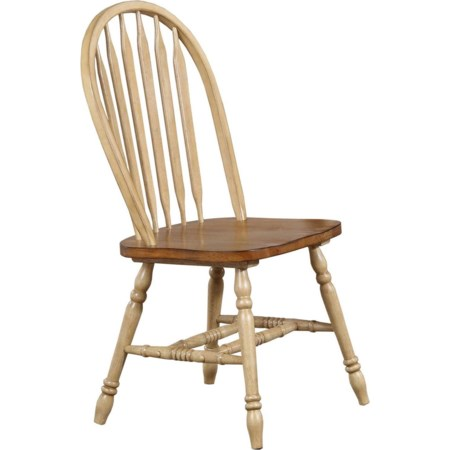 Arrow Back Side Chair