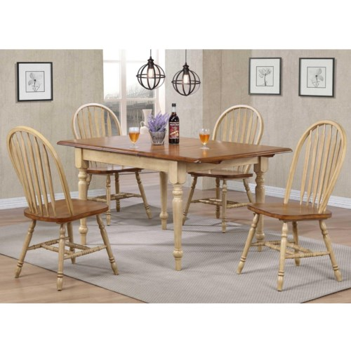 Winners ly Farmington 5 Piece Country Dining Set