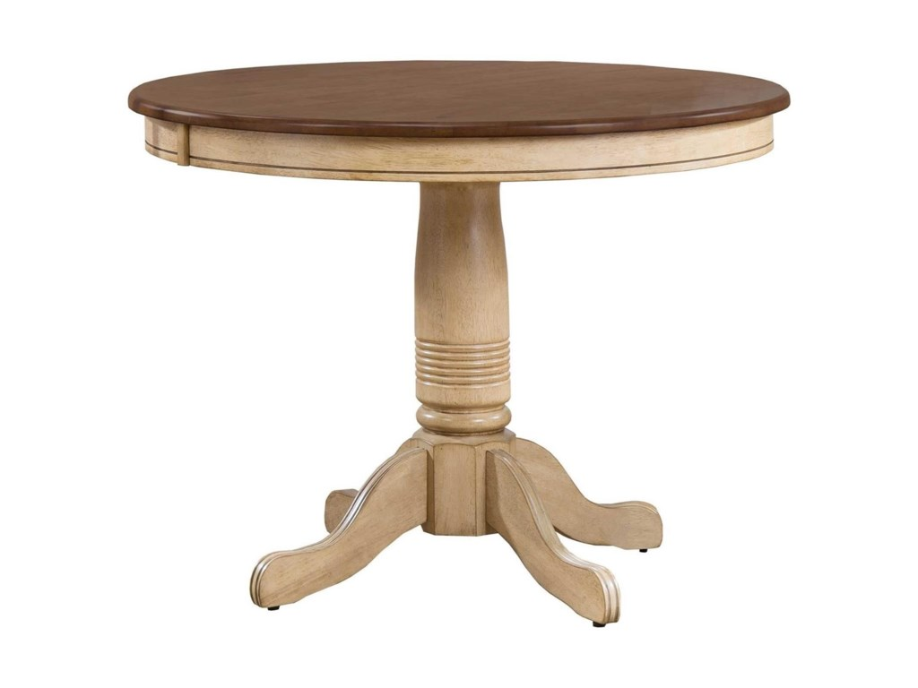Winners Only Farmington 42 Round Single Pedestal Dining Table