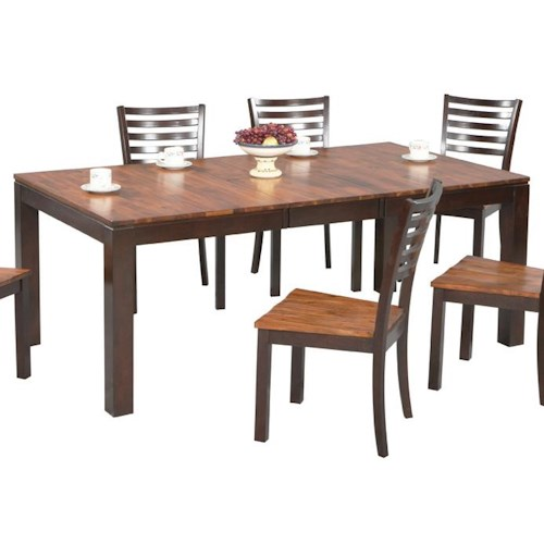 Winners Only Fifth Avenue Rectangular Leg Dining Table