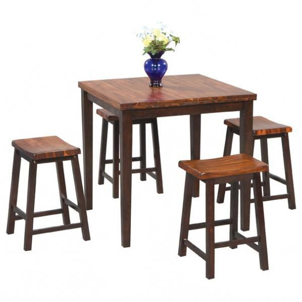 Winners Only Fifth Avenue5 Piece Tall Table and Barstool Set  sc 1 st  Dunk u0026 Bright Furniture & Winners Only Fifth Avenue DFA53636 5 Piece Tall Table and Barstool ...