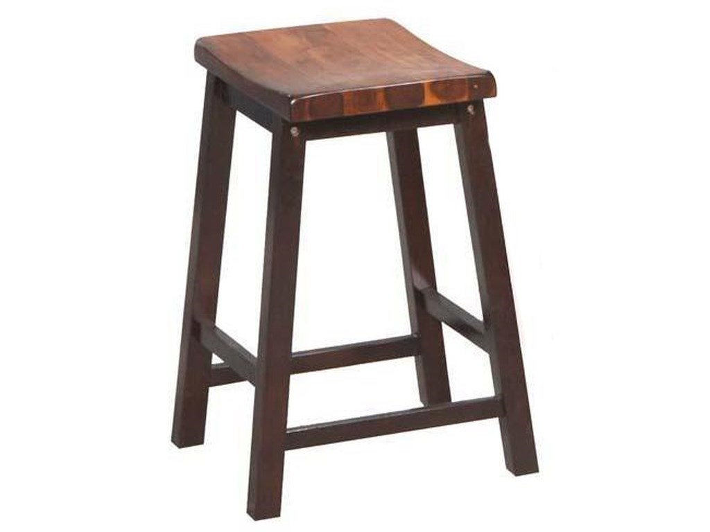 Fifth avenue 24 saddle barstool by winners only