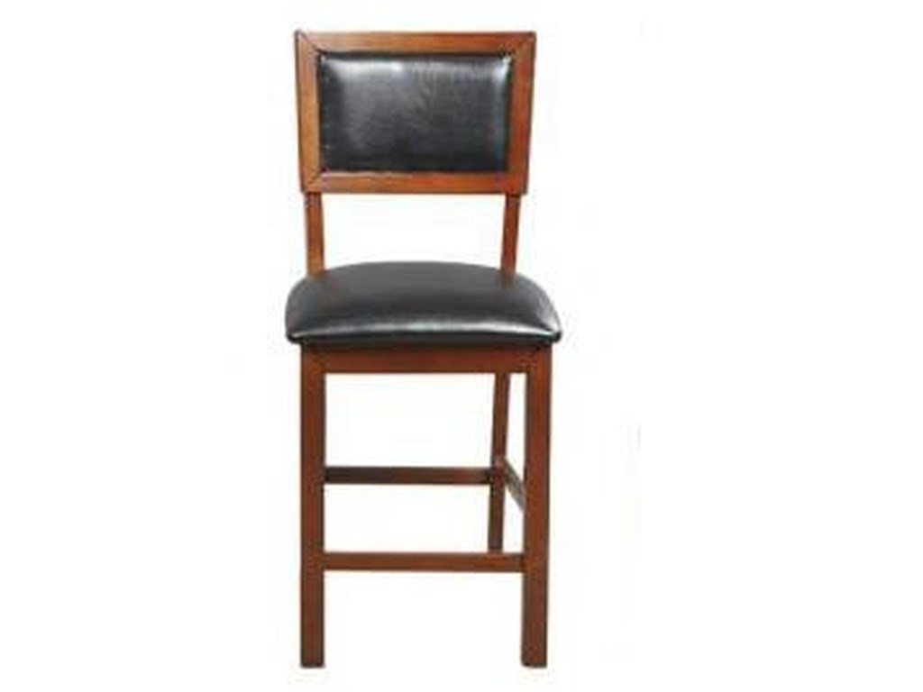 Winners Only FranklinCushion Back Barstool