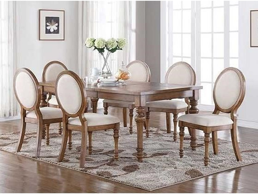 Winners Only Glendale7-Piece Dining Set