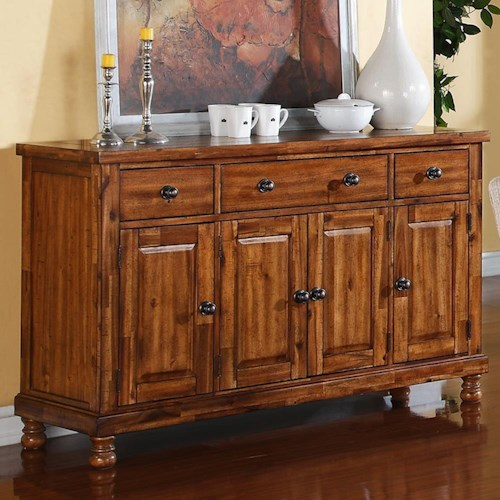 Winners Only Grand Estate 58 Quot Sideboard With Three Drawers