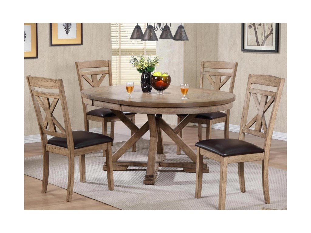 Winners Only Grandview5 Piece Dining Set