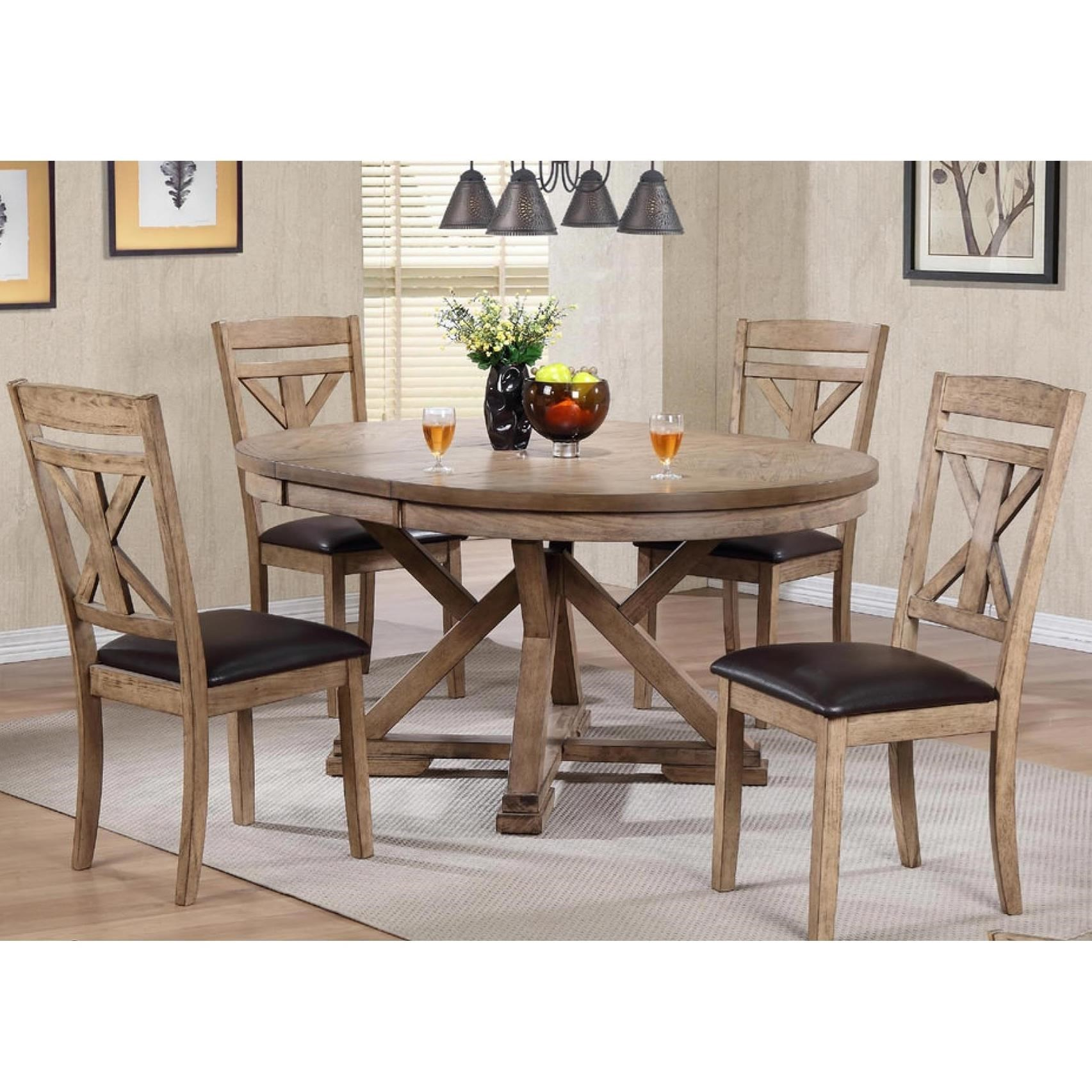 Attractive Grandview 5 Piece Dining Set By Winners Only