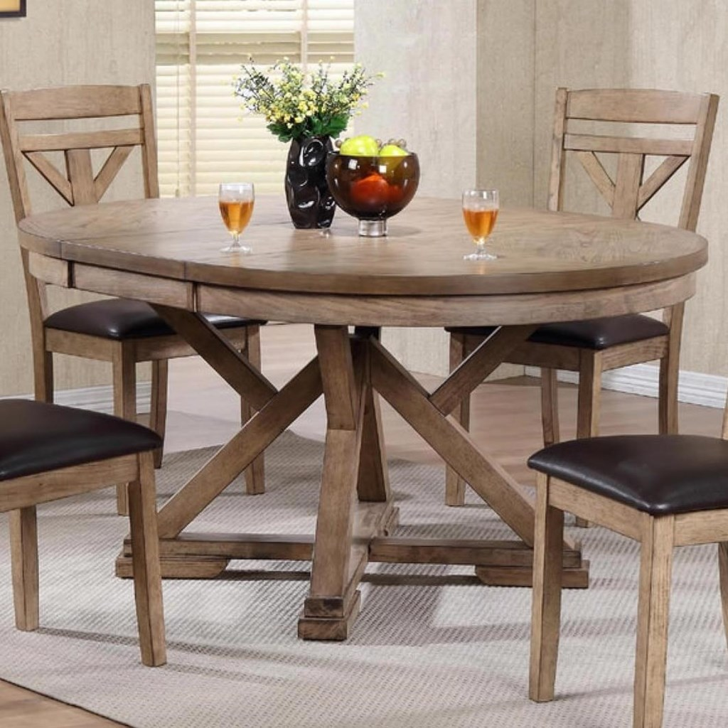 Winners Only Grandview Round Table With Butterfly Leaf Lindys