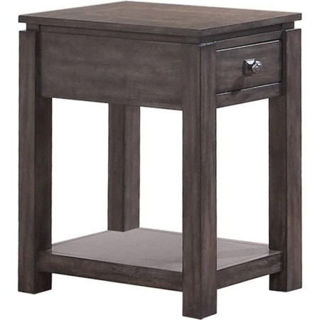 "14"" Chair Side Table"