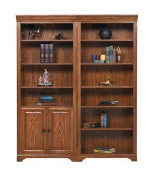 Winners Only Heritage OakModular Bookcase Set