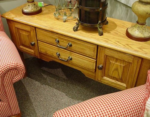 Winners Only Heritage Occasional Tables Sofa Table with 2 Doors