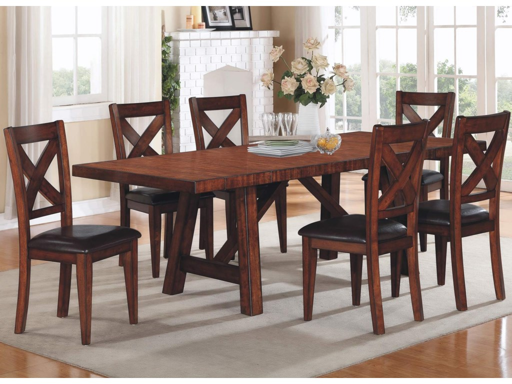 Kingston 7 Piece Table   Chair Set  3eab2e40929c