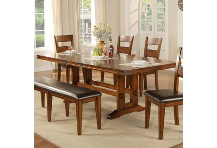 Mango 6 Piece Dining Table And Chair Set