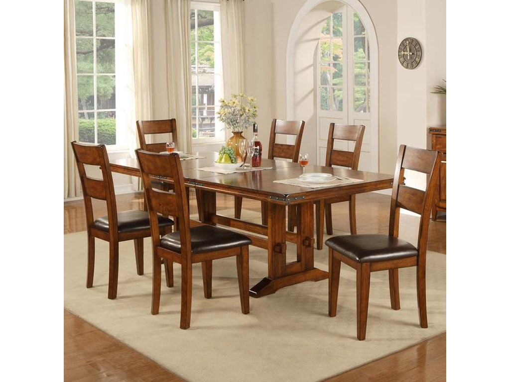 Winners Only Mango7 Piece Table and Chair Set