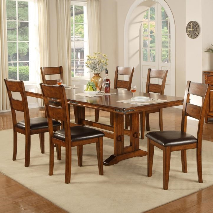 Winners Only Mango7 Piece Table And Chair Set ...