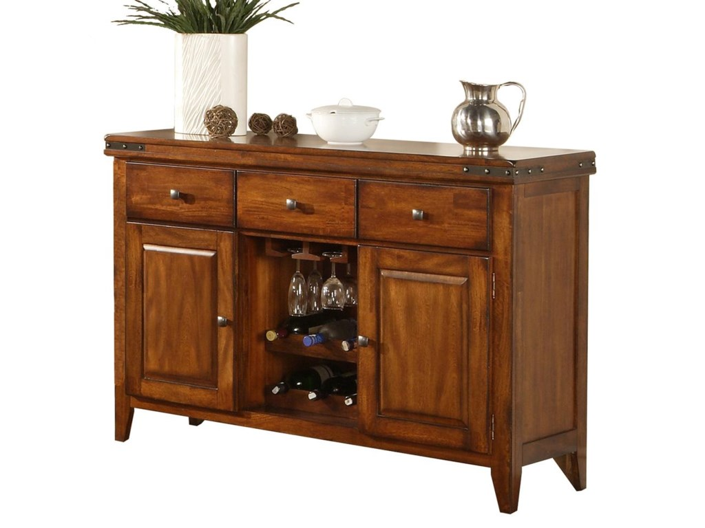 Colton Sideboard With Wine Rack By Winners Only At Rotmans