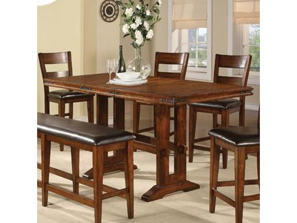 Winners Only Mango6 Piece Pub Table and Barstool Set