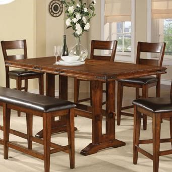 Tall Trestle Table