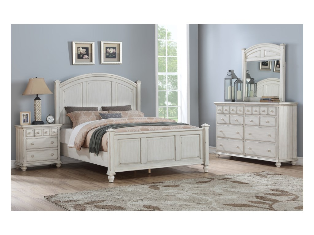 Winners Only NashvilleQueen Panel Bed