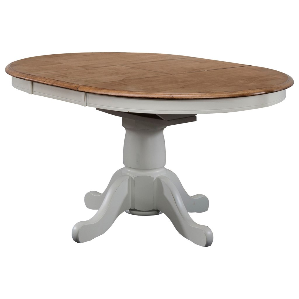 Winners Only Pacifica Dp54257 42 Pedestal Table With 15 Butterfly