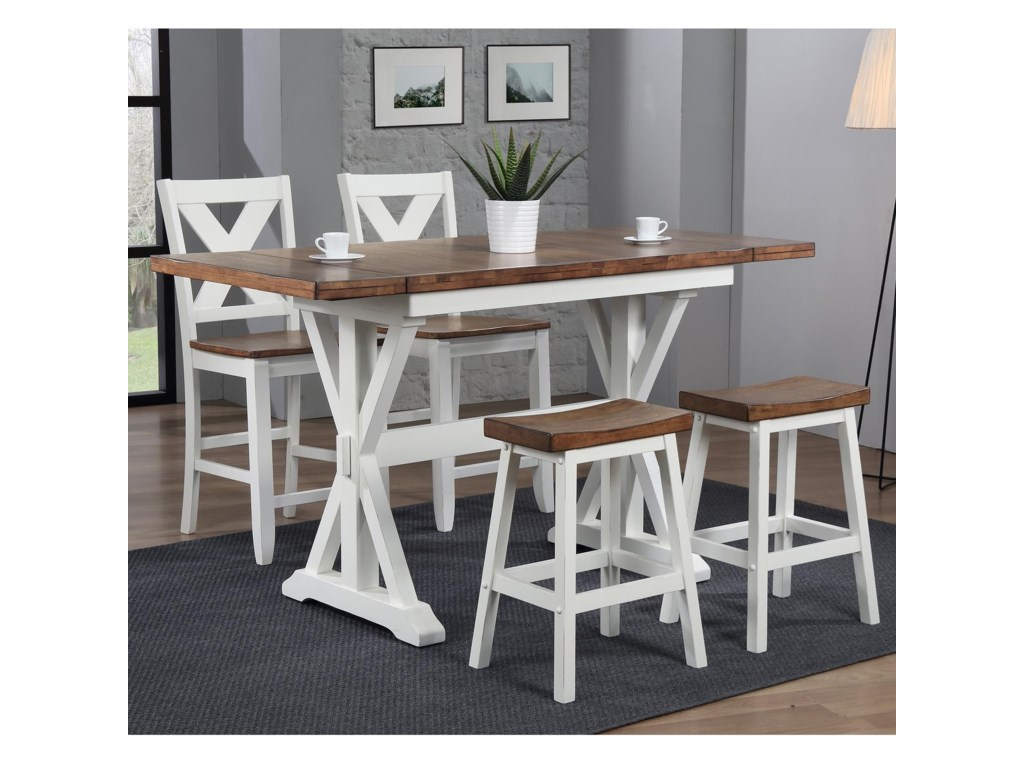 Winners Only PacificaCounter Height Dining Set