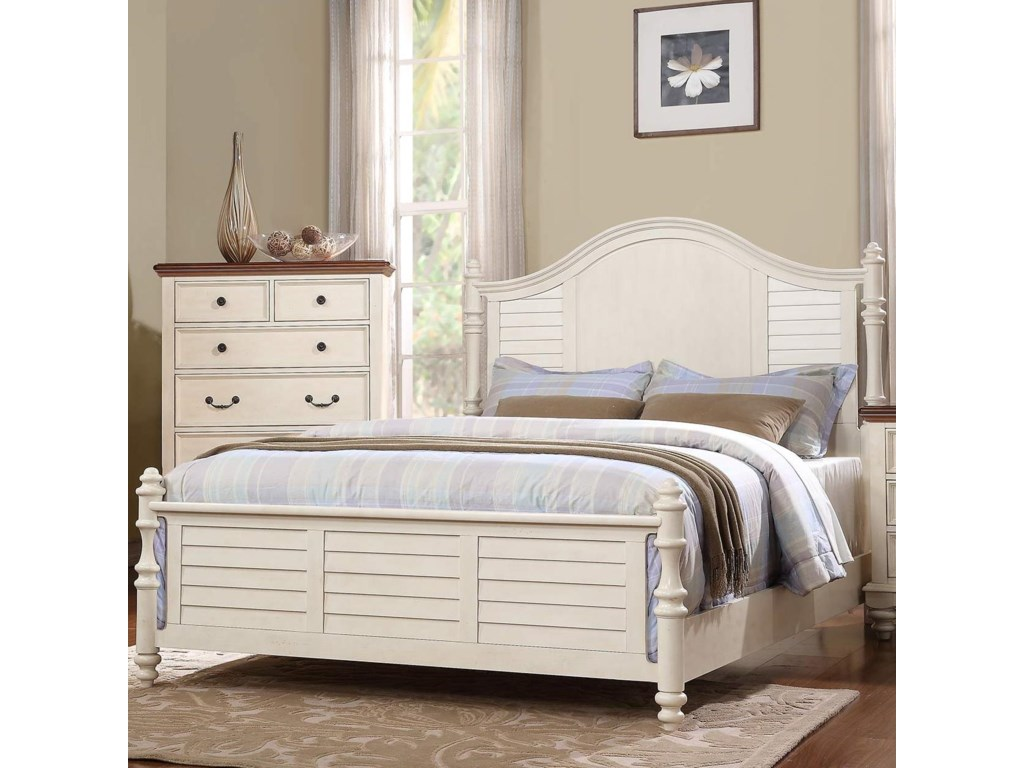 Winners Only Palm BeachQueen Panel Bed