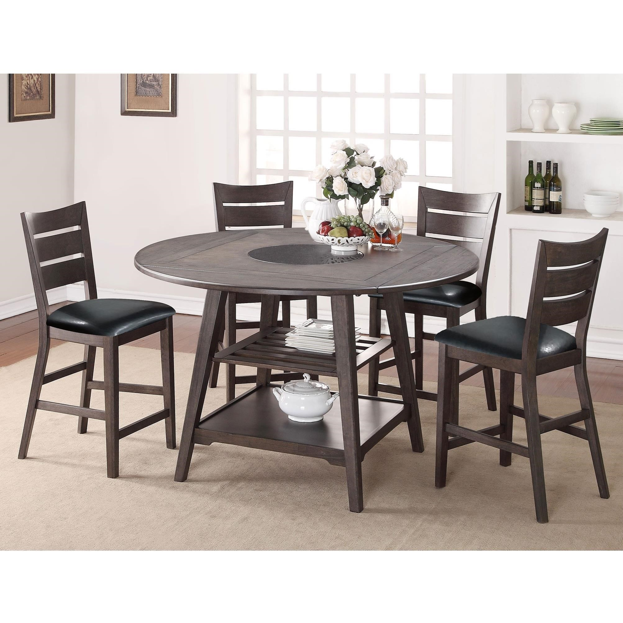 Parkside 5 Piece Counter Height Dining Set By Winners Only