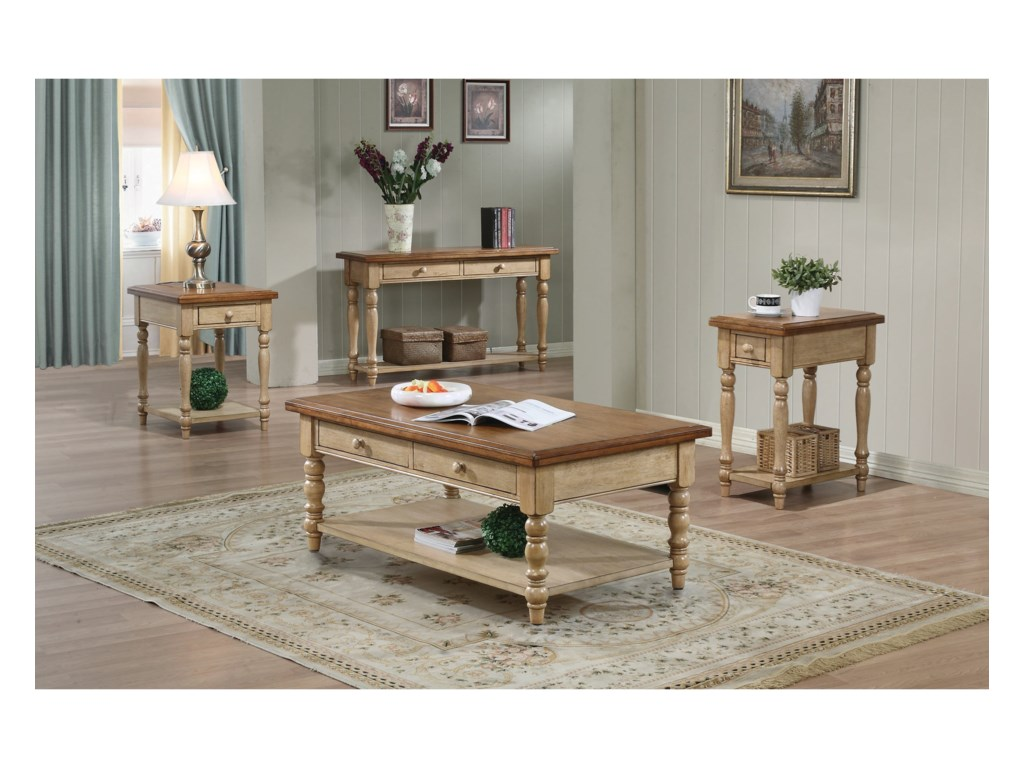 Winners Only Quails RunSmall End Table