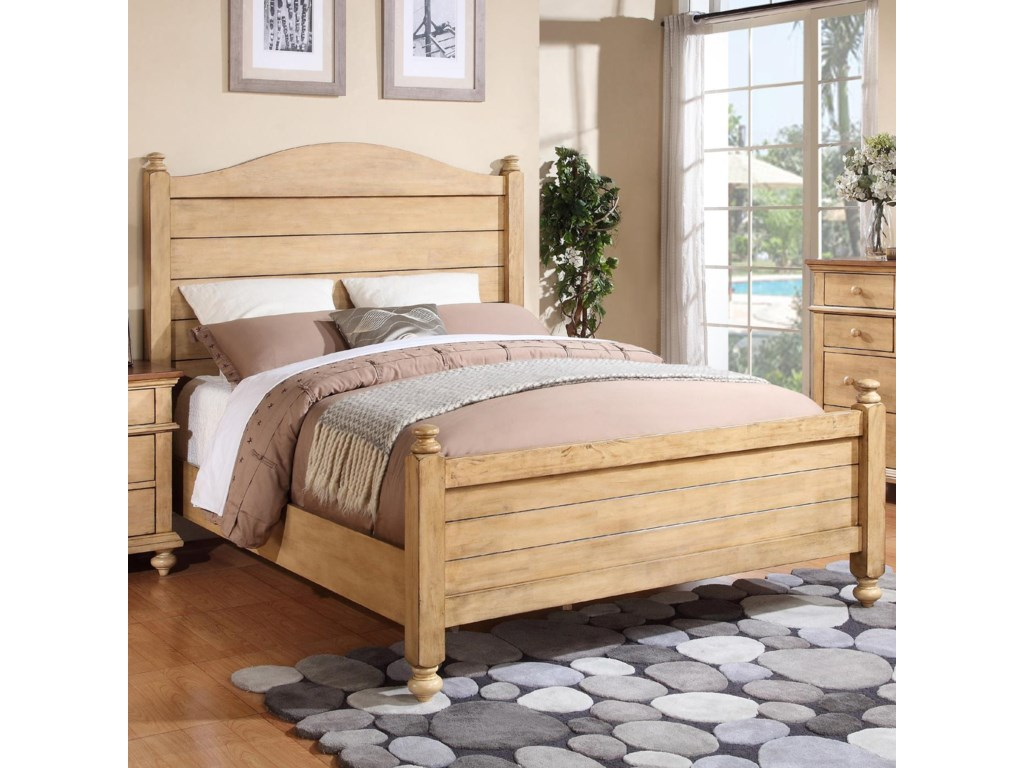 Winners Only Quails RunQueen Panel Bed
