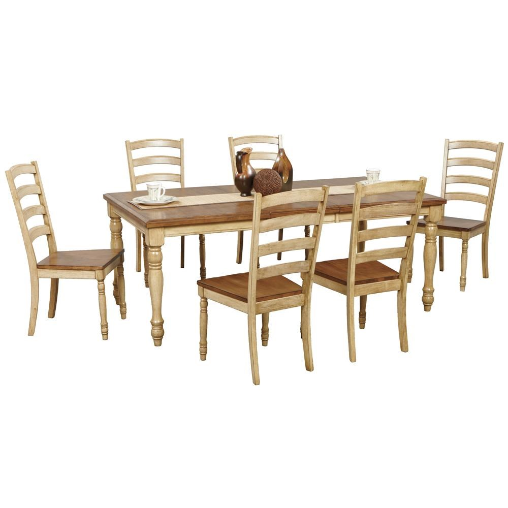 Winners Only Quails Run7 Piece Dining Table And Chair Set ...