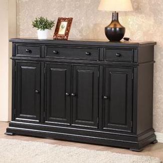 Winners Only Quails Run 4 Door Sideboard Godby Home