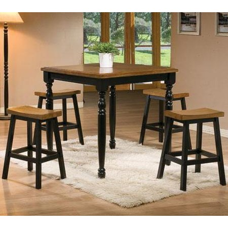 5 Piece Tall Table and Barstool Set