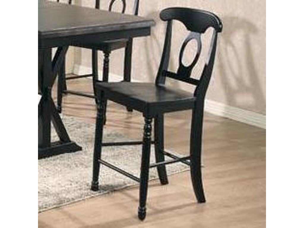 Winners Only Quails Run 7 Piece Tall Table with Napoleon ...