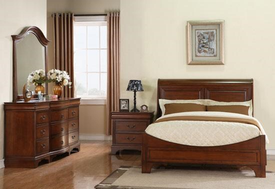 Shown with 12-Drawer Dresser, Night Stand, and Bed