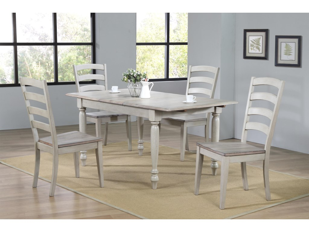 Winners Only RidgewoodTable & 4 Chairs