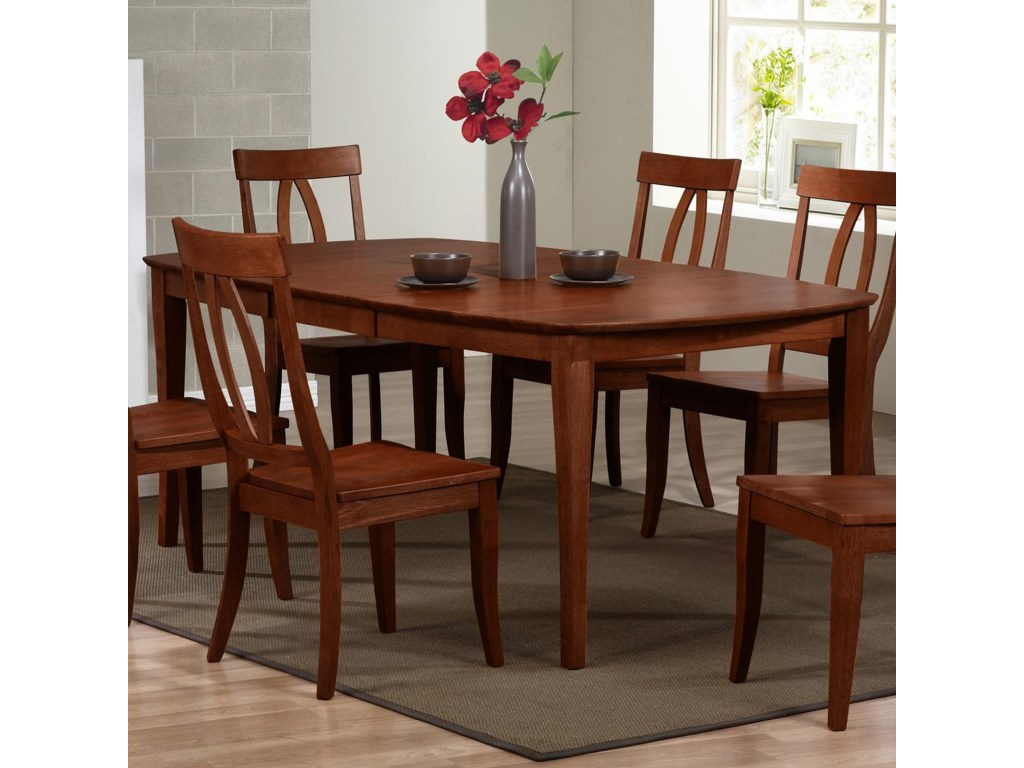 Winners Only Santa Barbara Sbf Dsb14278c Dining Table With 18