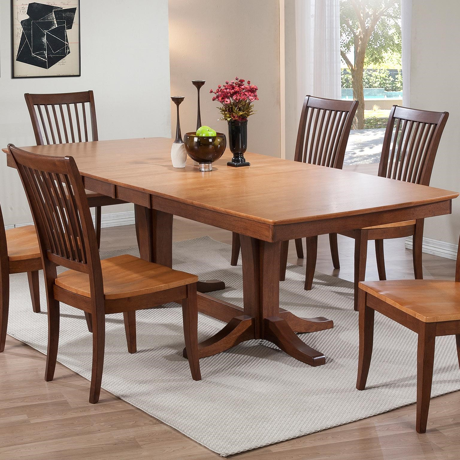 Winners Only Santa BarbaraDouble Pedestal Dining Table ...