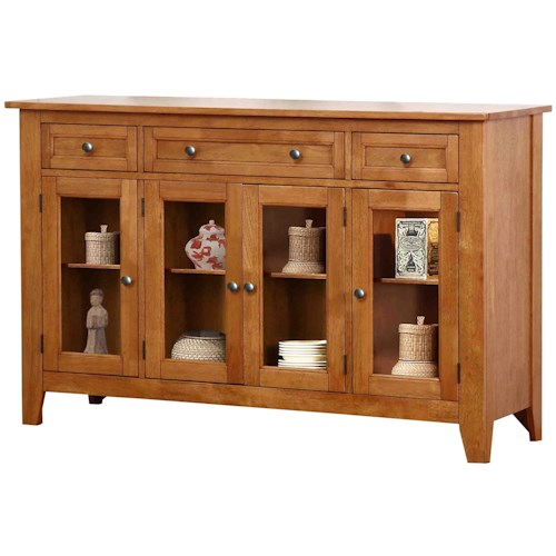Winners Only Santa Barbara SBF Sideboard with 4 Doors
