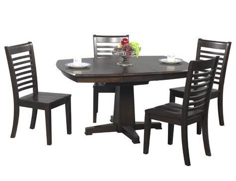 Charmant Winners Only Santa Fe 5 Piece Single Pedestal Dining Table And Chair Set